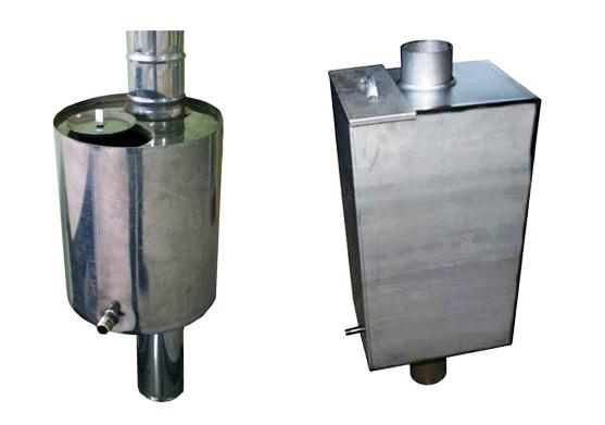 Металлический бак для воды